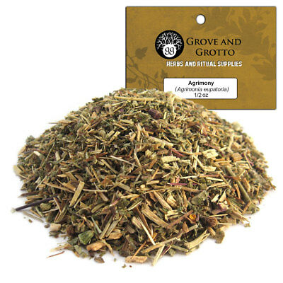 Agrimony 1/2 oz Package Ritual Herb ORGANIC C/S by Grove and Grotto