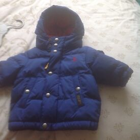 Ralph Lauren baby boy padded coat