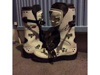 Alpine star motocross boots size 7