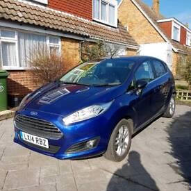 Ford fiesta titanium ecoboost 1.0L