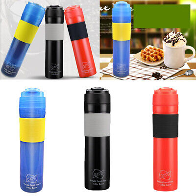 Portable French Press Coffee Bottle Stainless Coffee,Tea & E