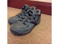 Ladies hi tec walking shoes
