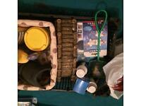 Tropical fish tank filters