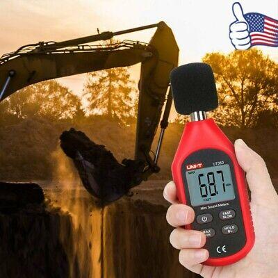 Lcd Digital Reader Sound Level Meter Noise Meter 30-130db Decibel Noise Measure
