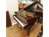 Challen Baby Grand Piano Mahogany By Sherwood Phoenix Pianos