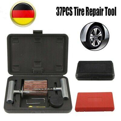 37 Tlg Autoreifen Kfz PKW Reifen Reparatur Satz Pannenset Flickzeug Flicken