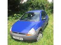 *** Ford Ka 2002, 1.3 Litre BARGAIN !!!