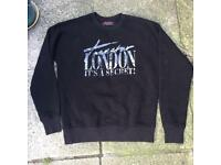 Trapstar it's a secret sweatshirt size medium
