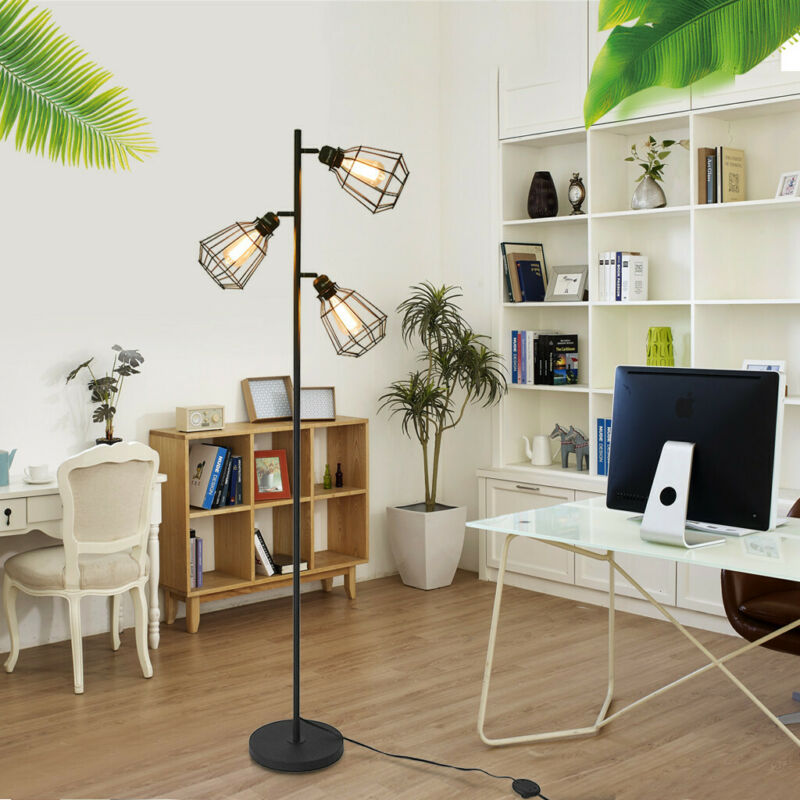 Floor Lamp Shelf Standing Light Reading