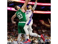 Boston Celtics v Philadelphia 76ers Ticket x 1