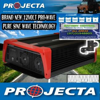 PROJECTA 12V ▓▓ PURE SINE WAVE INVERTER ▓▓ 1800W PW1800