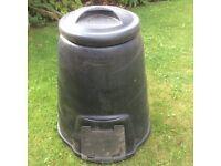 Blackwall 330litre Black Compost Bin