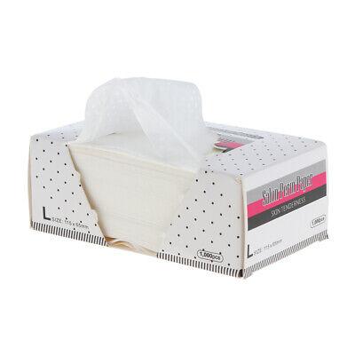 White Salon Electric Hair Perm Paper End Wrap 1000 Sheets / Box