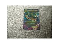 Mega Rayquaza ex Pokemon card