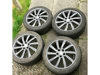 Alfa Romeo Giulietta Veloce Alloy Wheels and Tyres 5x110 Turbine