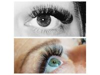 Classic and Russian Volume Eyelash Extensions