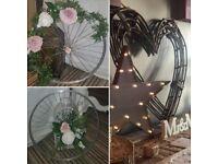 Rustic wedding props!
