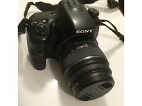 Sony DSLR Camera - Alpha 65 A-Mount Camera with APS-C Sensor (18 - 55 mm Zoom Lens)
