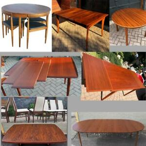 Teak Buy Or Sell Dining Table Amp Sets In Toronto Gta