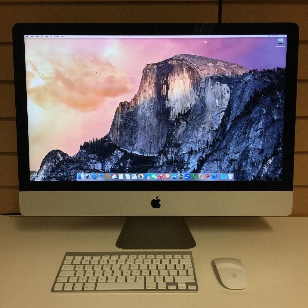 """27"""" iMac 3.2 Quad Core i5/ 8GB Ram/1TB Hard Drive/ Wireless Keyboard /Wireless Mousein Poole, DorsetGumtree - Late 2012 iMac in excellent condition, selling due to upgrade. NO OFFERS WHAT SO EVER"""