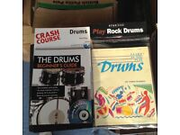 4 x music books for drums.