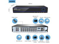 SANNCE H.264 5IN1 16CH DVR Digital Home Video for CCTV Camera Security System UK