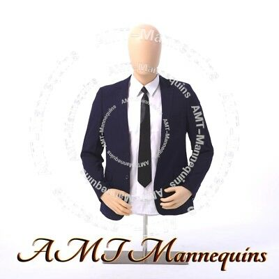 Ymt2-ft Male Torsostand Head Rotate Amt-mannequins Plastic Dress Form