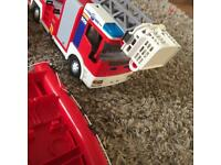 Play mobil fire set