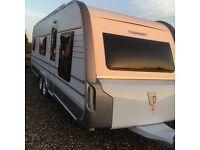 Tabbert caravan 2013 fixed bed 5/6 berth vgc