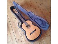 Hofner HF12 nylon string classical guitar