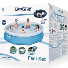 bestway 8 foot swimminmg pool brand new