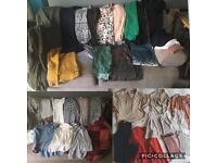 LARGE BUNDLE WOMENS CLOTHES