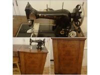 Convertable Antique sewing machine The Harris No.36H
