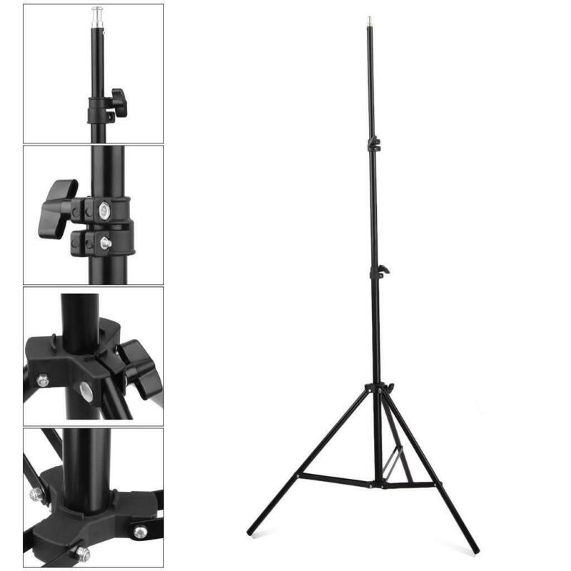 2m Light Stand Pro Adjustable Tripod for Photo Studio Softbox Boom Lighting Kit