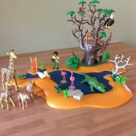 Playmobil oasis/safari