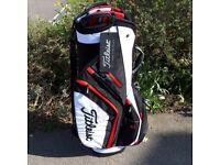 Titleist Black/White/Red Cart/trolley bag
