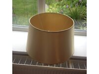 Gold colour large lamp shade