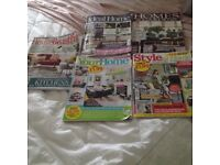 5 March issues of house magazines