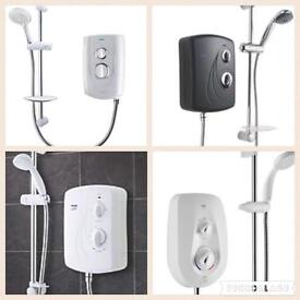 Range Of Electric Showers Supplied & fitted from £139 2 year warranty