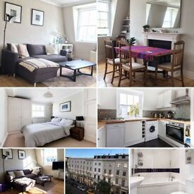 Big room in Pimlico, nice flat & ideally located, king size bed