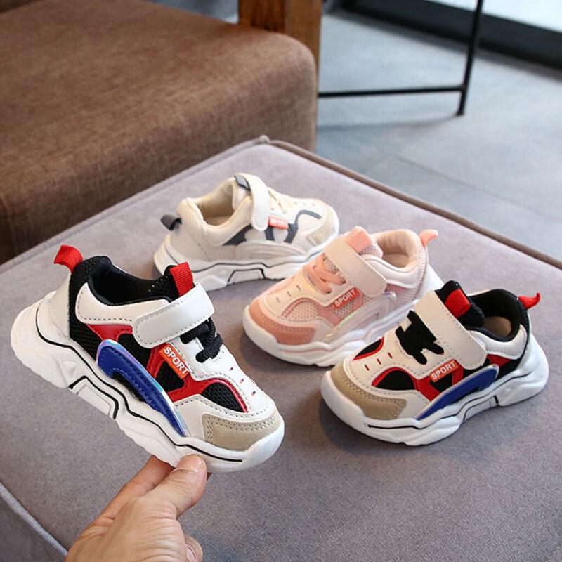 Toddler Infant Kids Baby Boys Girls Mesh Breathable Sport Ru