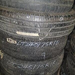 One 235 85 16 tire for sale