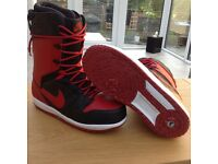 NIKE Vapen Snowboard Boots [RED + BLACK]