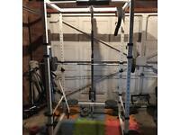 Heavy duty power rack cage