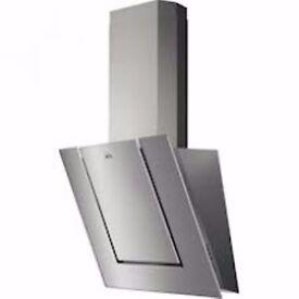 AEG DVB3550M Angled Chimney Cooker Hood