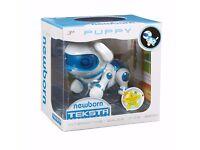 Teksta NEWBORN Robotic Puppy - Interactive Pet - WALKS, SITS & BEGS - NEW