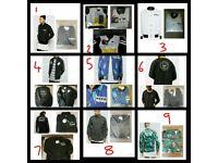 Joblot Wholesale Bundle RRP £5466 Designer Mens Clothing Topman