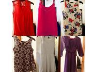 Job lot bundle size 6 tops dresses miss selfridge boohoo new look atmosphere