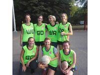 Play Netball in Highbury - start this Wednesday!