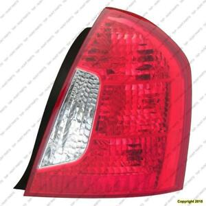 Tail Light Passenger Side Sedan High Quality Hyundai Accent 2006-2011